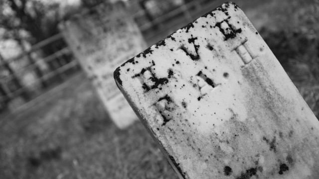 Day Seventy Four, 'NoWhere, MN'. A very cemetery kind of day.
